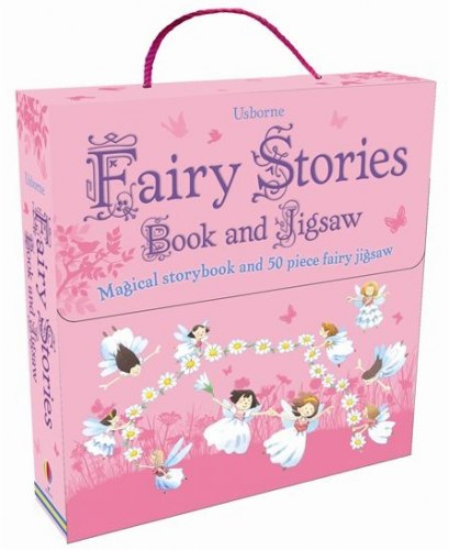 An Usborne Jigsaw with a Picture Book: Fairy Stories / Книга з пазлом