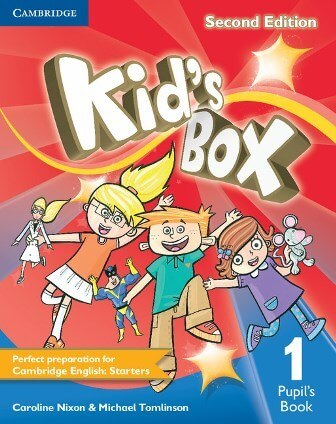 Kid's Box Second Edition 1 Pupil's Book / Підручник для учня