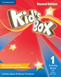 Kid's Box Second Edition 1 Activity Book with Online Resources / Робочий зошит