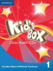 Kid's Box Second Edition 1 Class Audio CDs Cambridge University Press