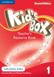 Kid's Box Second Edition 1 Teacher's Resource Book with Online Audio / Ресурси для вчителя