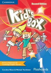 Kid's Box Second Edition 1 Flashcards / Flash-картки