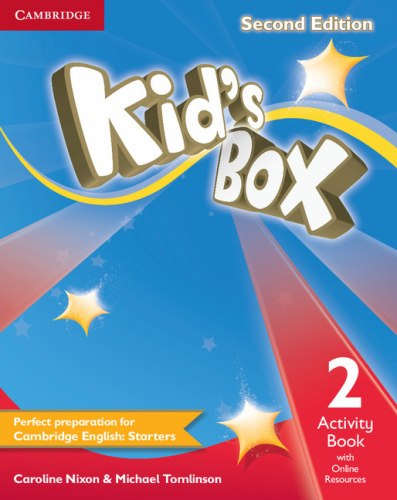 Kid's Box Second Edition 2 Activity Book with Online Resources / Робочий зошит