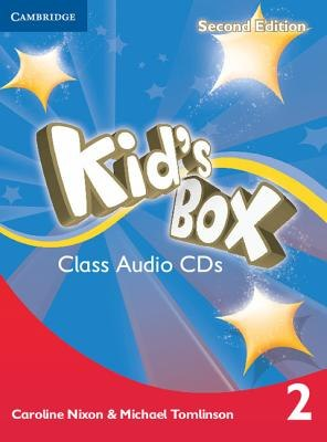 Kid's Box Second Edition 2 Class Audio CDs / Аудіо диск