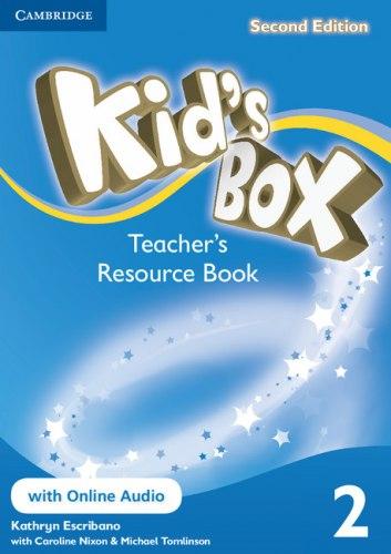 Kid's Box Second Edition 2 Teacher's Resource Book with Online Audio / Ресурси для вчителя