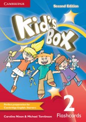 Kid's Box Second Edition 2 Flashcards / Flash-картки