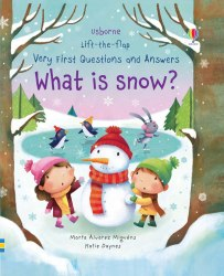 Lift-the-Flap: Very First Questions and Answers: What is Snow? / Книга з віконцями