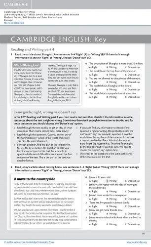 Think 1 Workbook with Online Practice / Робочий зошит
