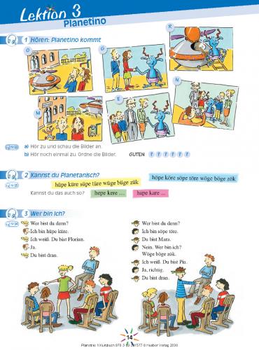 Planetino 1 Kursbuch / Підручник для учня