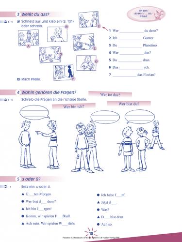 Planetino 1 Arbeitsbuch mit CD-ROM / Робочий зошит