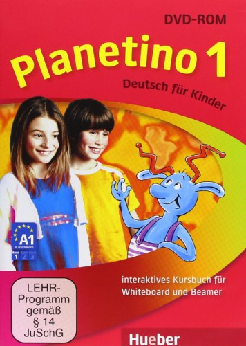 Planetino 1 Interaktives Kursbuch für Whiteboard und Beamer DVD-ROM / Ресурси для інтерактивної дошки