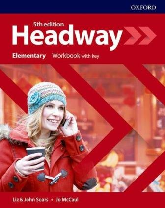 Headway (5th Edition) Elementary Workbook with key / Робочий зошит