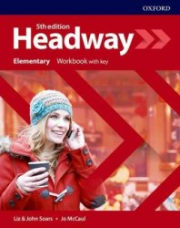 Headway (5th Edition) Elementary Workbook with key Oxford University Press
