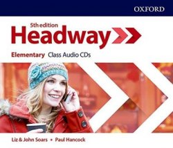 Headway (5th Edition) Elementary Class Audio CDs / Аудіо диск