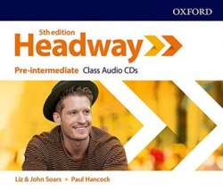 Headway (5th Edition) Pre-Intermediate Class Audio CDs / Аудіо диск