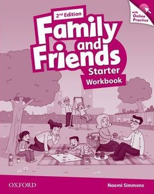 Family and Friends Starter (2nd Edition) Workbook with Online Practice / Робочий зошит