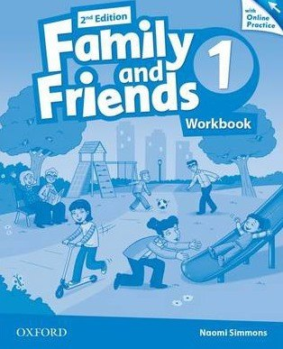 Family and Friends 1 (2nd Edition) Workbook with Online Practice / Робочий зошит