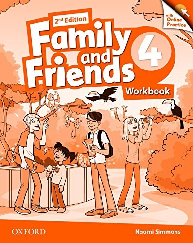 Family and Friends 4 (2nd Edition) Workbook with Online Practice / Робочий зошит