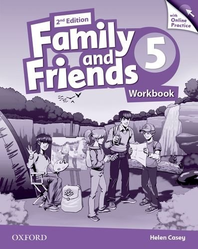 Family and Friends 5 (2nd Edition) Workbook with Online Practice / Робочий зошит