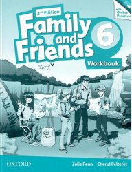 Family and Friends 6 (2nd Edition) Workbook with Online Practice / Робочий зошит