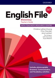 English File (4th Edition) Elementary Teacher's Guide with Teacher's Resource Centre / Ресурси для вчителя