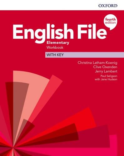 English File (4th Edition) Elementary Workbook with key / Робочий зошит