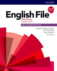 English File (4th Edition) Elementary Student's Book with Online Practice / Підручник для учня