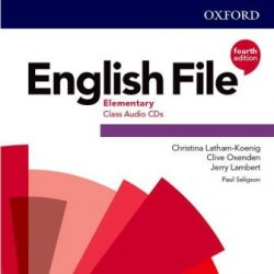 English File (4th Edition) Elementary Class Audio CDs / Аудіо диск