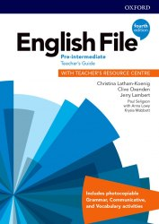 English File (4th Edition) Pre-Intermediate Teacher's Guide with Teacher's Resource Centre / Ресурси для вчителя