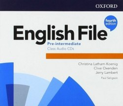 English File (4th Edition) Pre-Intermediate Class Audio CDs / Аудіо диск