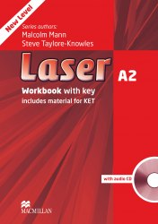 Laser A2 (3rd Edition) Workbook / key / CD / Робочий зошит