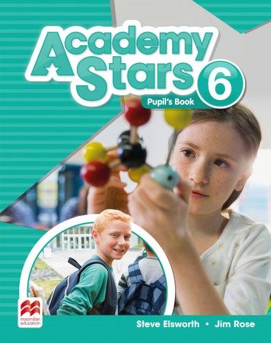 Academy Stars 6 Pupil's Book Pack (Edition for Ukraine) / Підручник для учня, видання для України