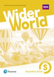 Wider World Starter Teacher's book with DVD / Підручник для вчителя