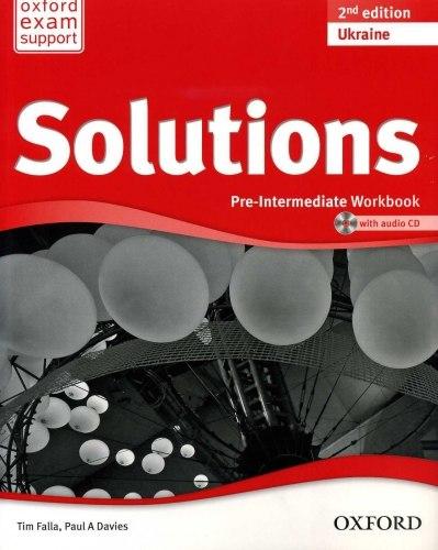 Solutions (2nd Edition) Pre-Intermediate Workbook Ukraine / Робочий зошит