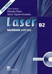 Laser B2 (3rd Edition) Workbook / key / CD / Робочий зошит