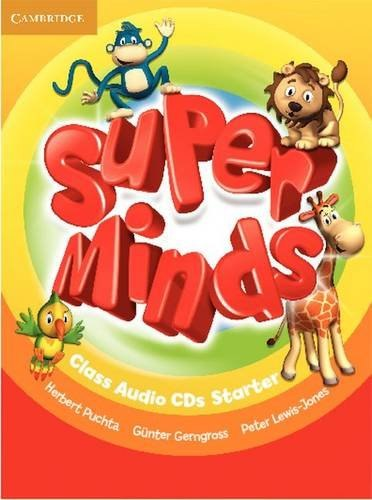 Super Minds Starter Class Audio CDs / Аудіо диск