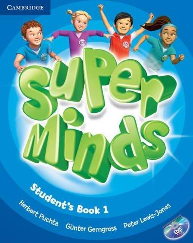 Super Minds 1 Student's Book with DVD-ROM / Підручник для учня