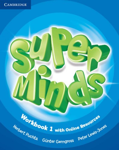 Super Minds 1 Workbook with Online Resources / Робочий зошит