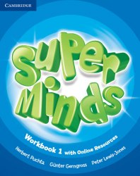 Super Minds 1 Workbook with Online Resources / Робочий зошит