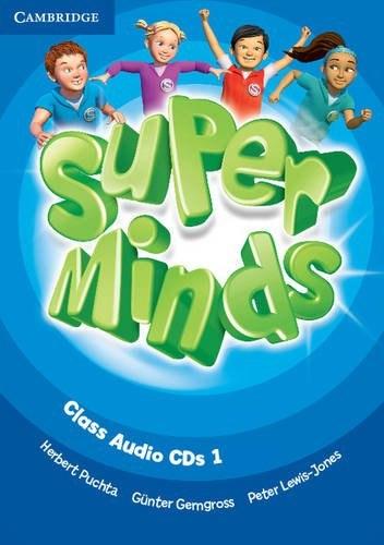 Super Minds 1 Class Audio CDs / Аудіо диск