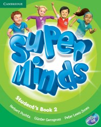 Super Minds 2 Student's Book with DVD-ROM / Підручник для учня