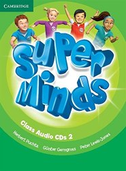 Super Minds 2 Class Audio CDs / Аудіо диск