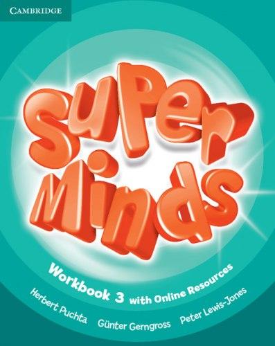 Super Minds 3 Workbook with Online Resources / Робочий зошит