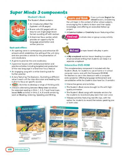 Super Minds 3 Teacher's Book / Підручник для вчителя