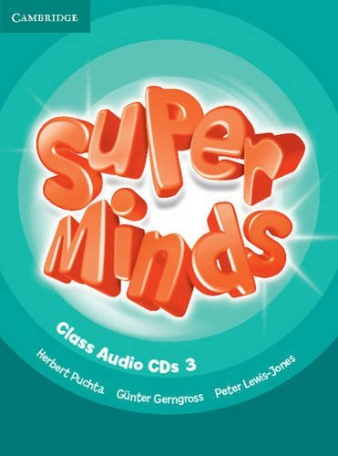 Super Minds 3 Class Audio CDs / Аудіо диск