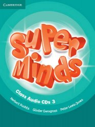 Super Minds 3 Class Audio CDs / Аудіо диск