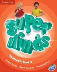 Super Minds 4 Student's Book with DVD-ROM / Підручник для учня