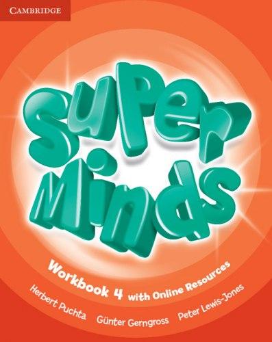 Super Minds 4 Workbook with Online Resources / Робочий зошит