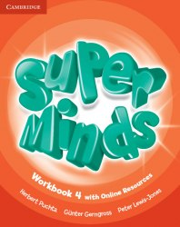 Super Minds 4 Workbook with Online Resources / Робочий зошит
