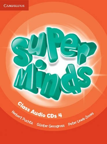 Super Minds 4 Class Audio CDs / Аудіо диск